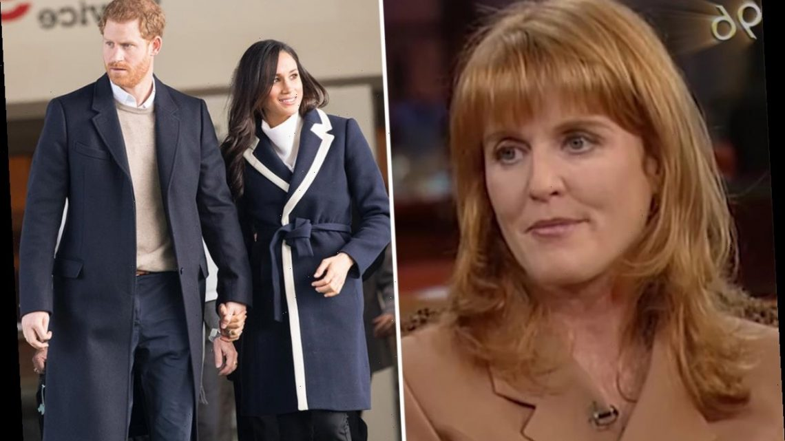 Meghan Markle and Harry's Oprah interview remind royal fans of Sarah Ferguson's explosive 1996 chat with host