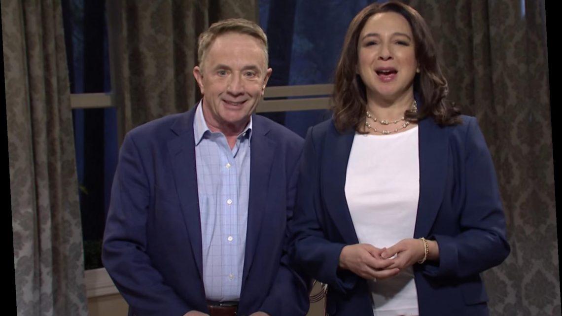 'SNL': Maya Rudolph's Kamala Harris, Martin Short's Doug Emhoff Host Passover