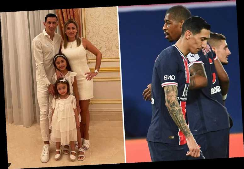 Angel Di Maria has 'house burgled with family inside' during PSG game as ace subbed and leaves stadium immediately