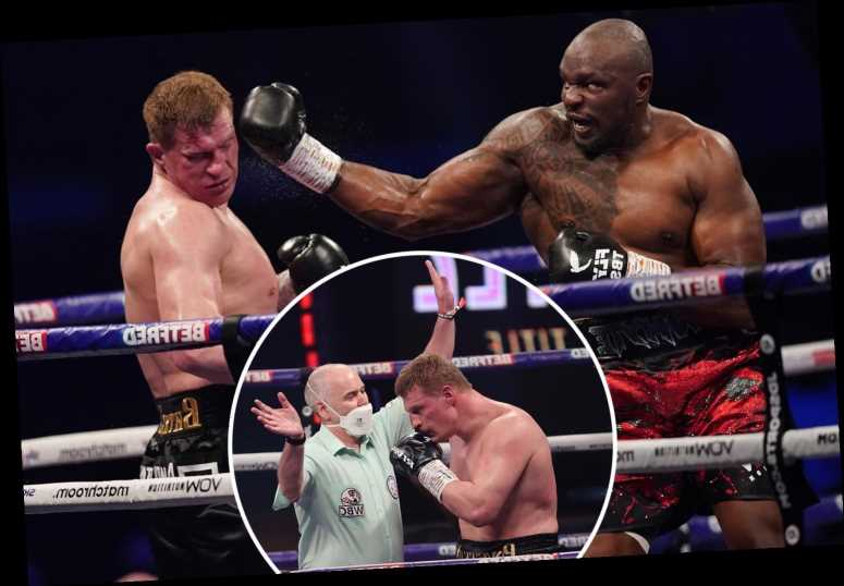 Dillian Whyte KOs Alexander Povetkin in fourth round to earn impressive rematch win and set up big summer