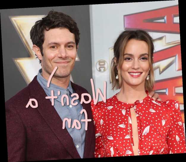 Adam Brody JUDGED Leighton Meester Based on Her Gossip Girl Character Before They Got Together!