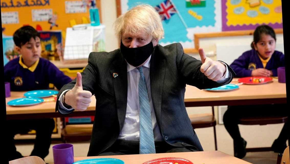 Boris Johnson hails re-opening of schools as result of 'truly national effort' to defeat Covid