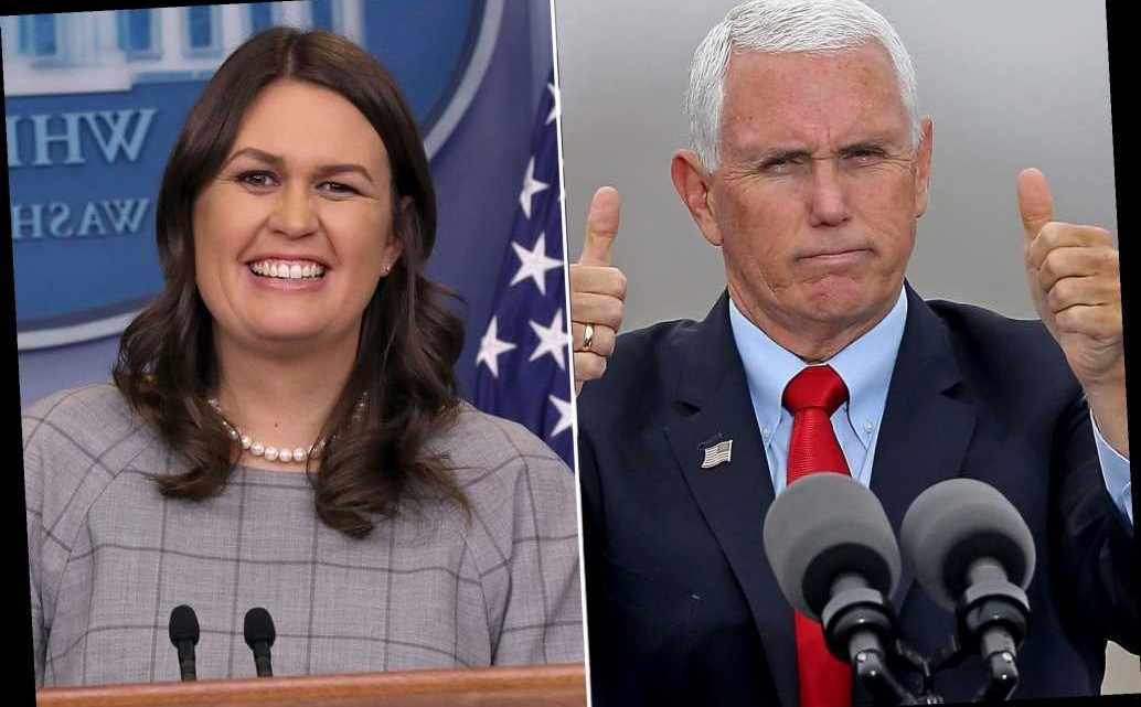 Mike Pence endorses Sarah Huckabee Sanders in Arkansas governor's race