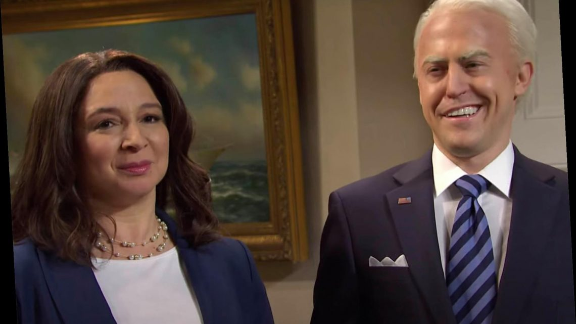 SNL roasts Biden for press conference cheat sheets