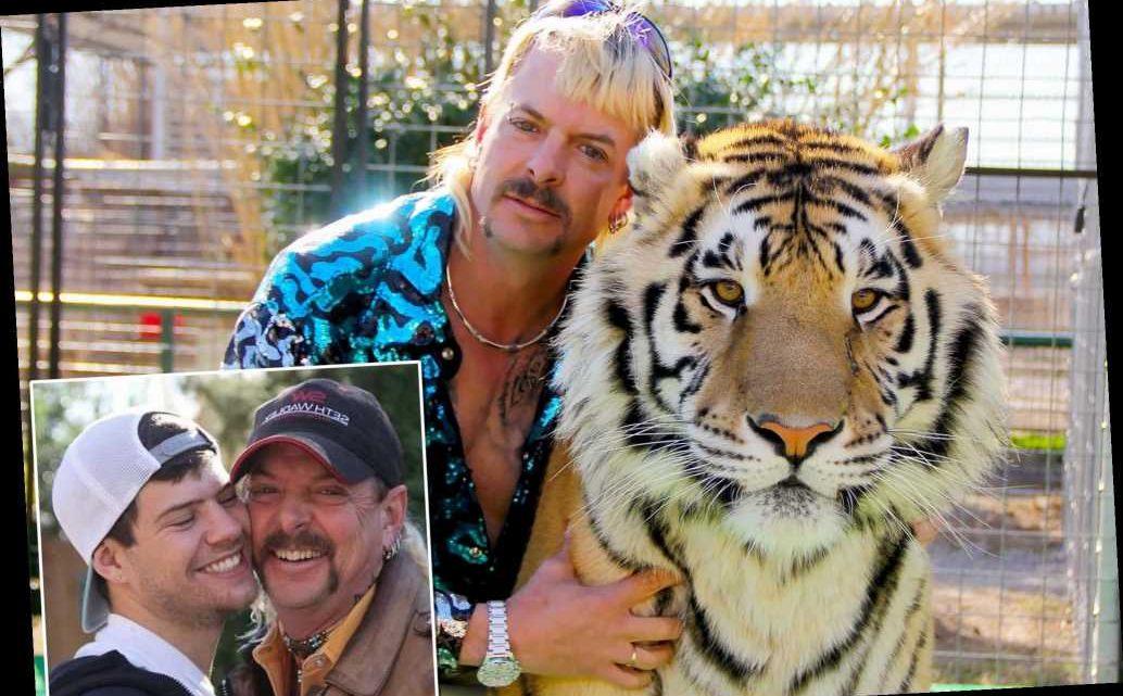 'Tiger King' Joe Exotic and husband Dillon Passage splitting