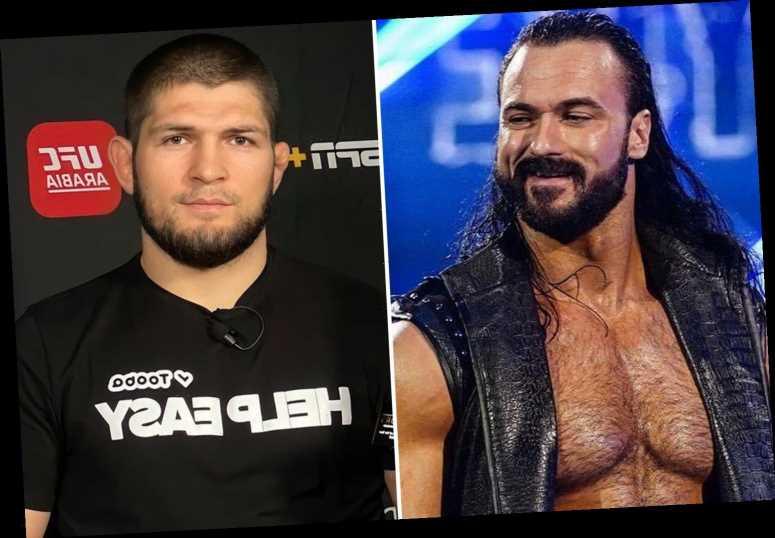 UFC legend Khabib would be perfect in WWE alongside Paul Heyman as Drew McIntyre reveals he wants Tyson Fury fight