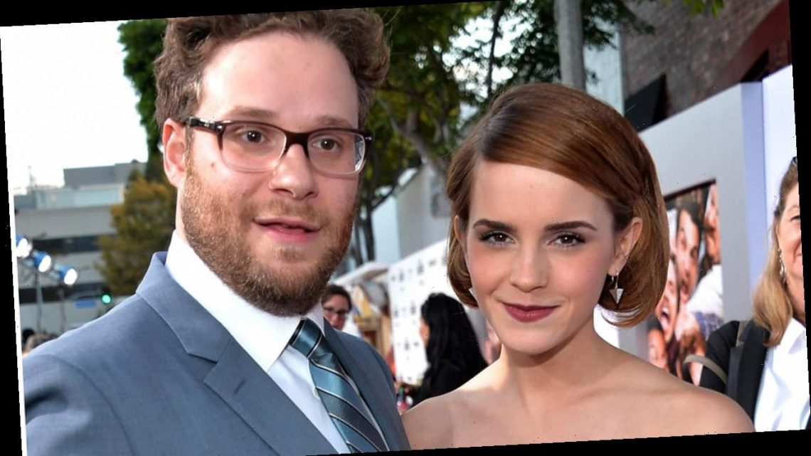 Seth Rogen clarifies Emma Watson comments, says she did not storm off set of 'This is the End'