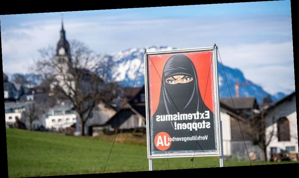 Switzerland's voters narrowly approve controversial ban on face coverings in public