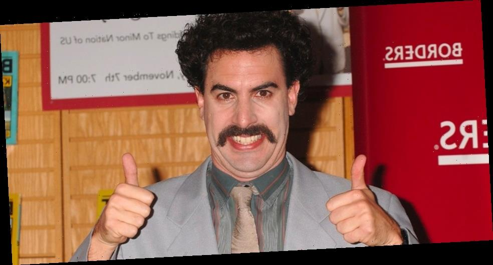 'Borat: Subsequent Moviefilm' Sets New Guinness World Record