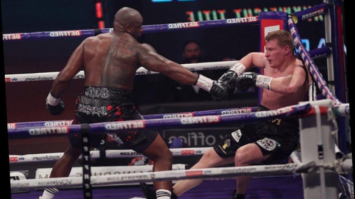 Dillian Whyte punishes Alexander Povetkin to claim revenge in fourth-round knockout