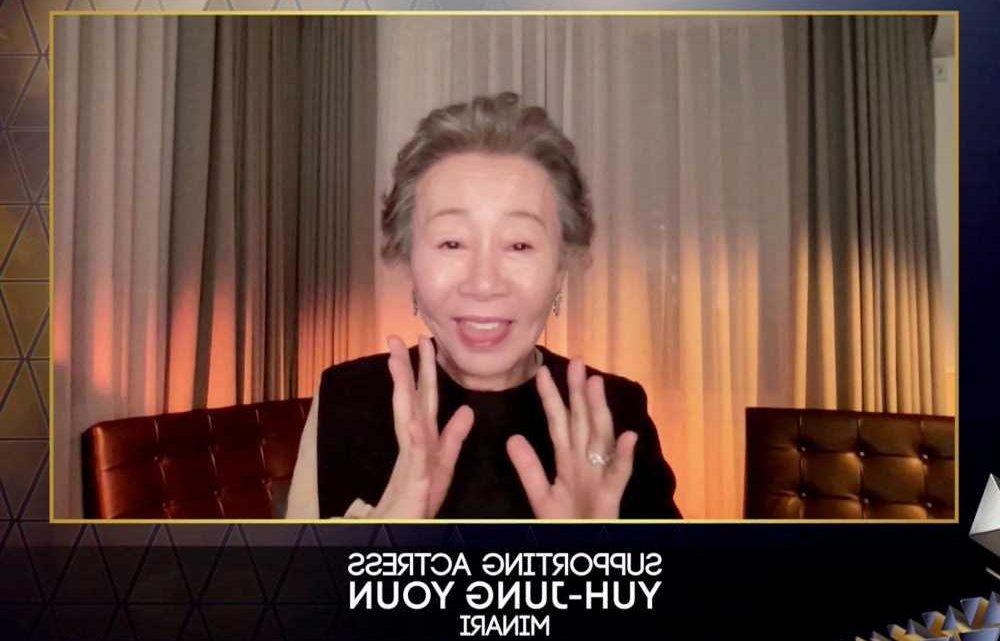 'Minari' star Yuh-Jung Youn thanks 'snobbish' Brits in light-hearted BAFTA Speech