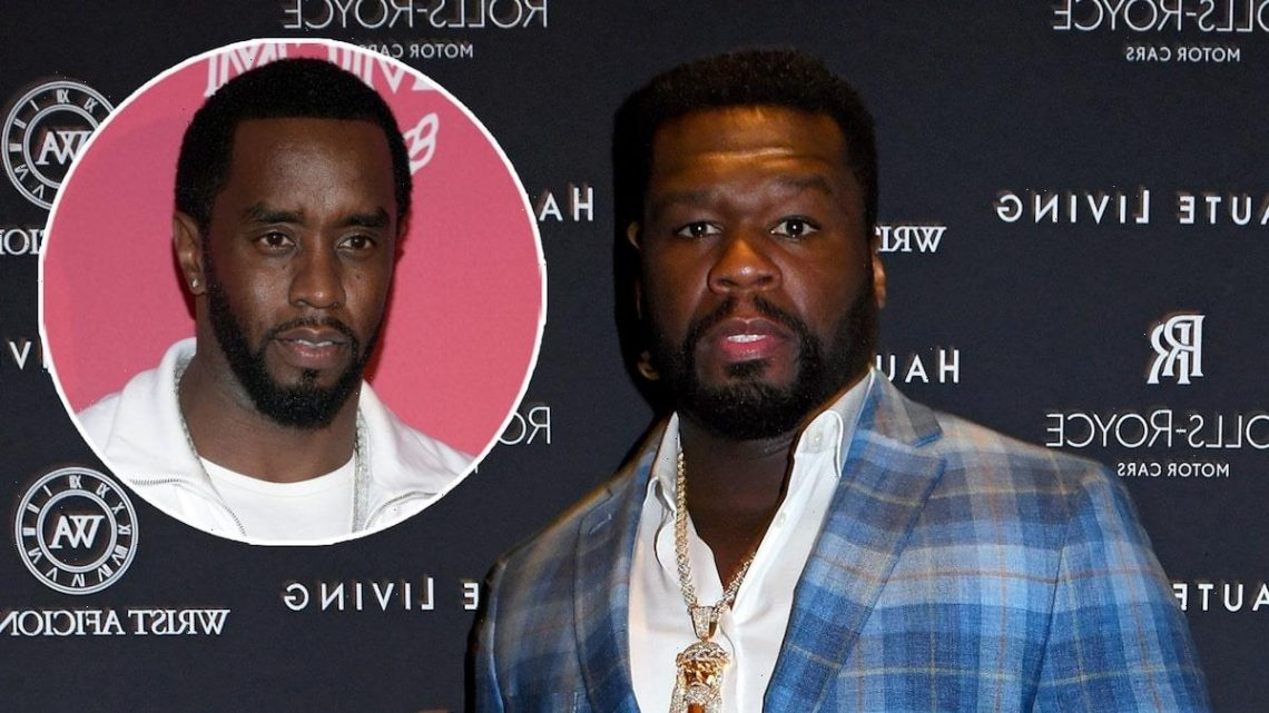 50 Cent Weighs In On Diddy Holding Hands with Daphne Joy, Mother of His Youngest Son