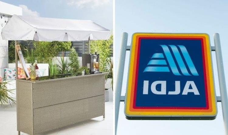 Aldi Specialbuys: Retailer launches 'luxury' garden bar at 'bargain' price ahead of May 17