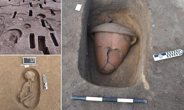 Archaeologists unearth 110 ancient TOMBS in Egypt's Nile Delta