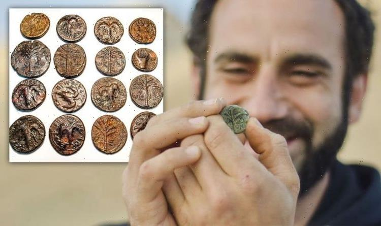 Archaeology news: 'Rare hoard' of ancient coins unearthed in Israel date to Roman revolt