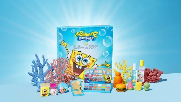 Are Ya Ready, Kids? Shop the SpongeBob SquarePants x Wet n Wild Collection Right Now