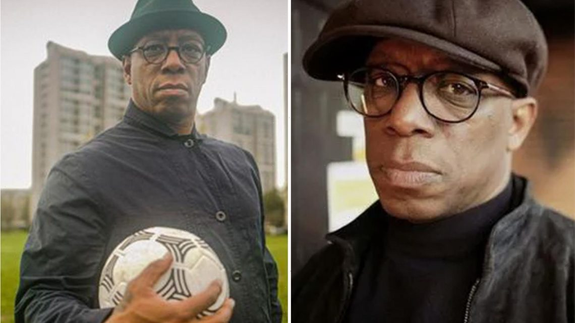 Arsenal legend Ian Wright fights back tears as he revisits childhood home where he was horrifically abused by stepdad