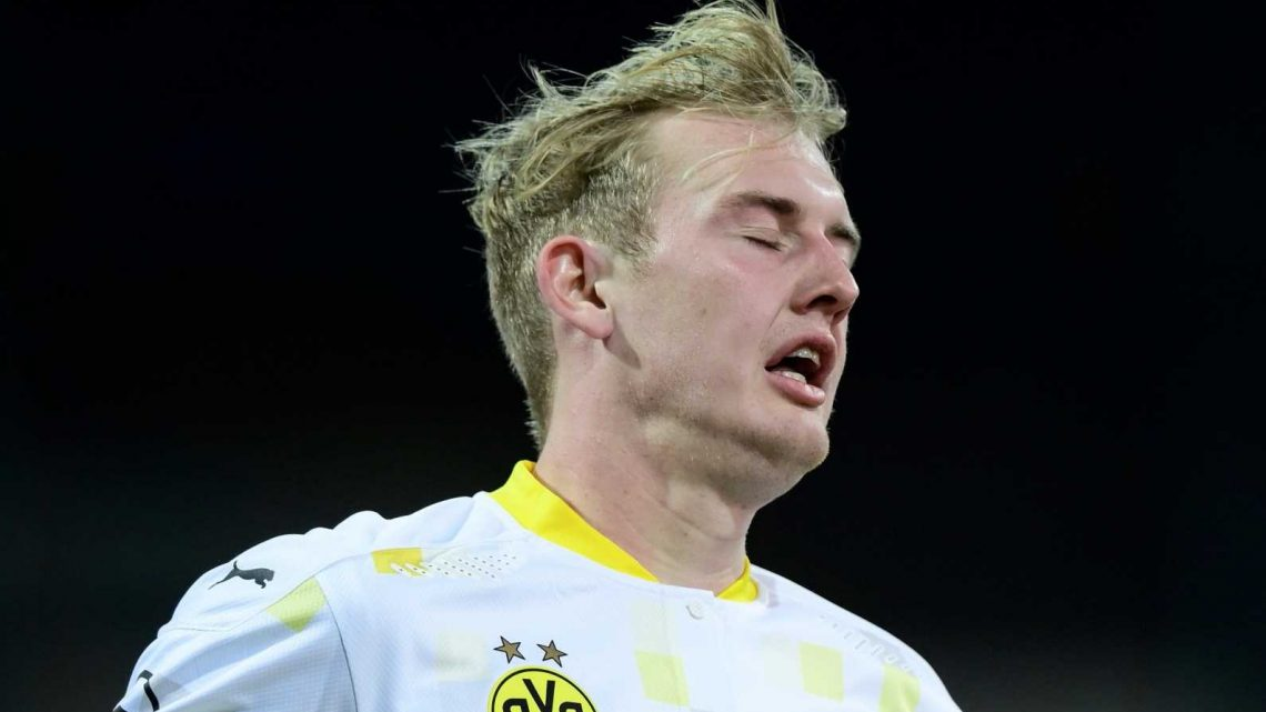 Arsenal ramp up interest in Julian Brandt as Martin Odegaard alternative with Dortmund star available for just £17.5m
