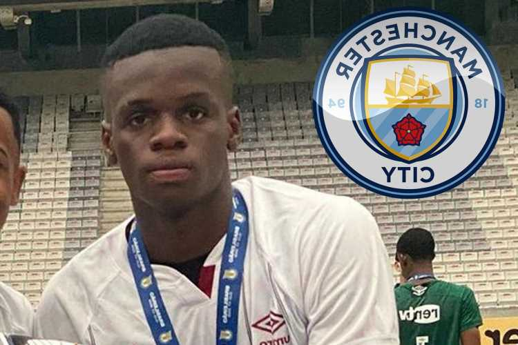Arsenal 'beaten by Man City in Metinho transfer race with Guardiola set to snap-up 18-year-old Fluminense ace for £11m'