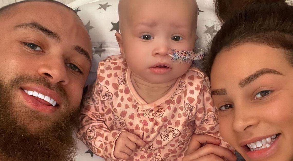 Ashley Cain recounts moment Azaylia had seizures and stopped breathing as nursing team rushed to save her