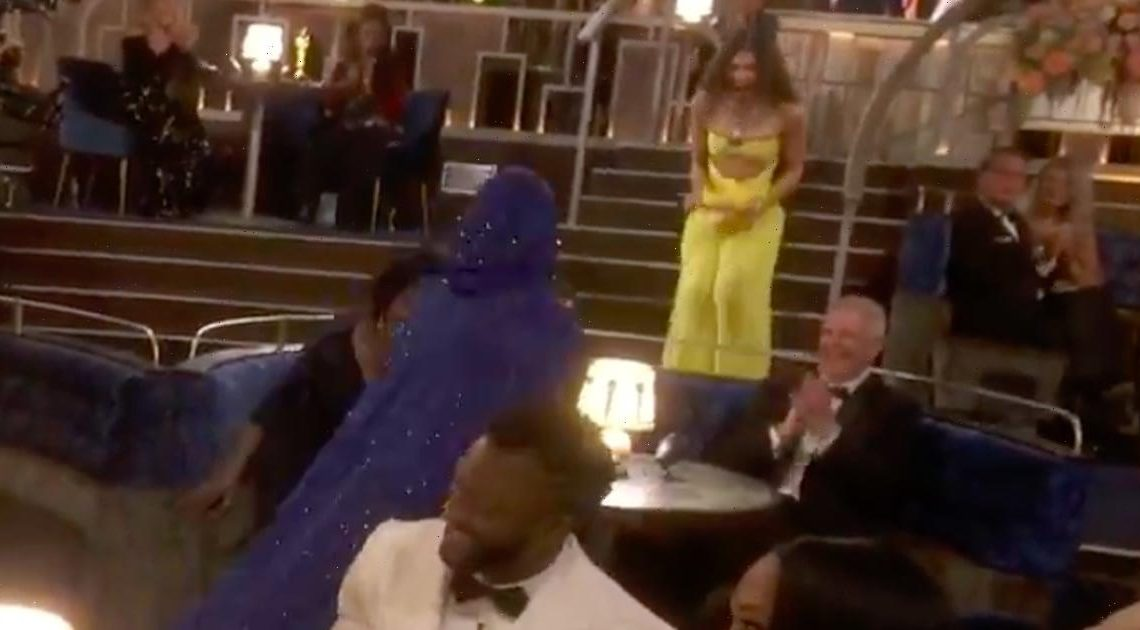 BRB, We're Replaying Zendaya's Adorable Reaction to H.E.R.'s Oscar Win
