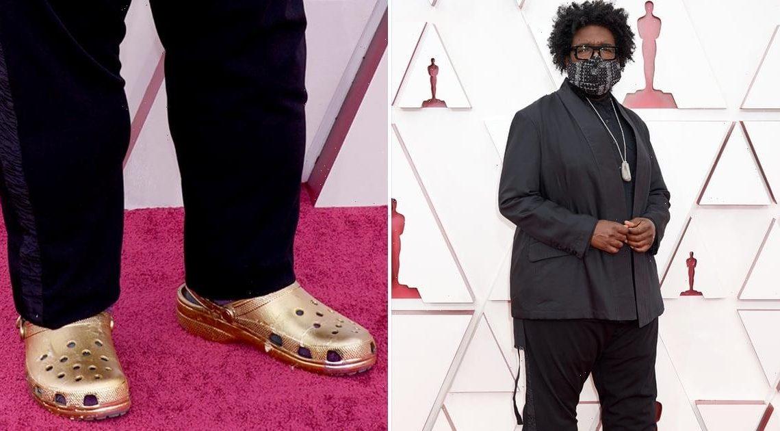 Comfort Meets Class: Questlove's Gold Crocs Had a *Moment* at the 2021 Oscars