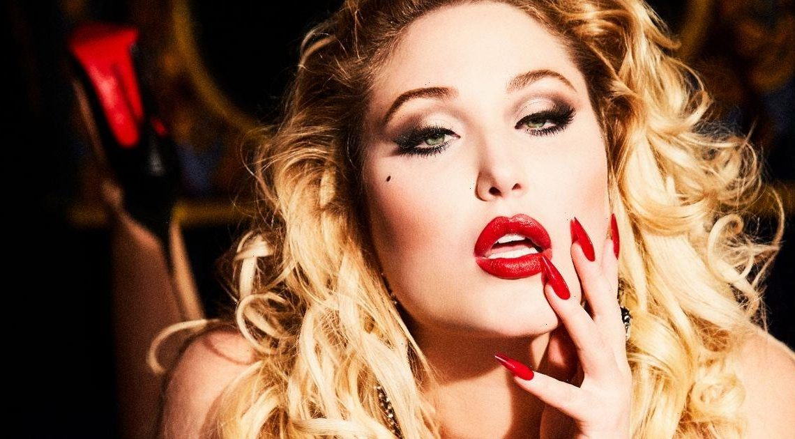 David Hasselhoff's daughter Hayley strips naked for raunchy Playboy shoot