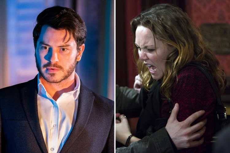 EastEnders fans predict Janine Butcher will KILL monster Gray Atkins as Charlie Brookes makes dramatic return