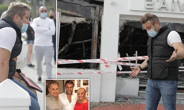 Elliott Wright says his restaurant was destroyed in arson attack
