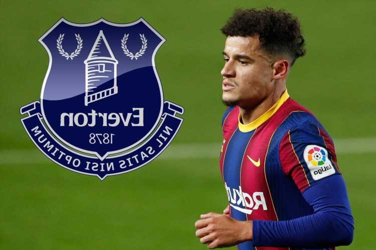 Everton 'plot shock Philippe Coutinho transfer and hope to land Barcelona and ex-Liverpool star for just £35m'