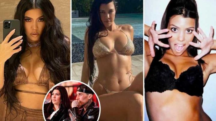 How Kourtney Kardashian finally found happiness with rocker Travis Barker as the pair lift the lid on their sex life