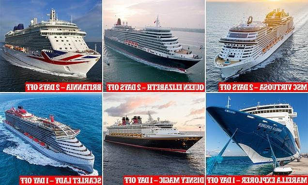 How to take SIX cruises around UK with less than a fortnight off work