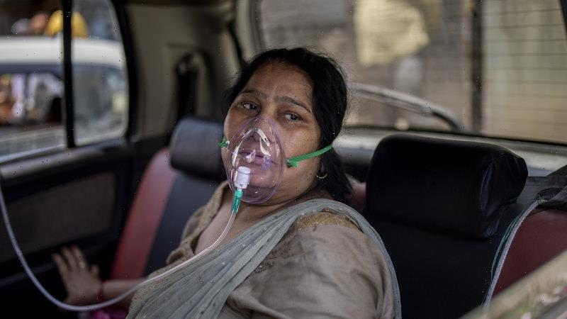 Indians turn to black market as health system buckles under outbreak