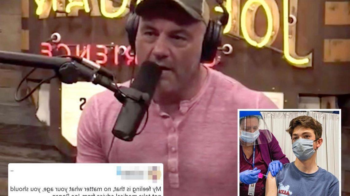 Joe Rogan slammed as $100m Spotify star tells millions that young people SHOULDN'T get Covid vaccine
