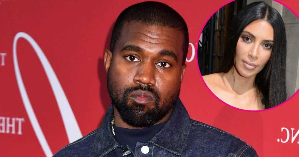 Kanye West Appears to Still Be Wearing His Wedding Ring Amid Kim Divorce