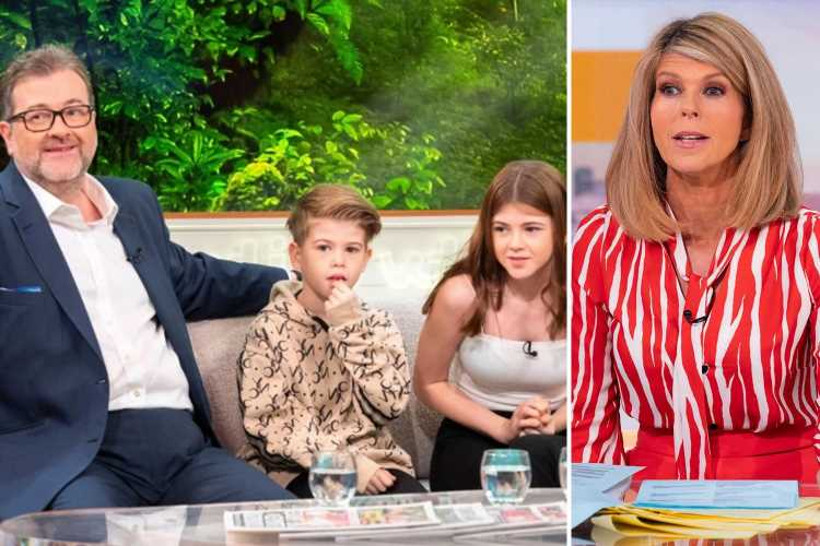 Kate Garraway reveals Derek still can't talk but calls kids 'my heroes' for 'knowing how to communicate with him'