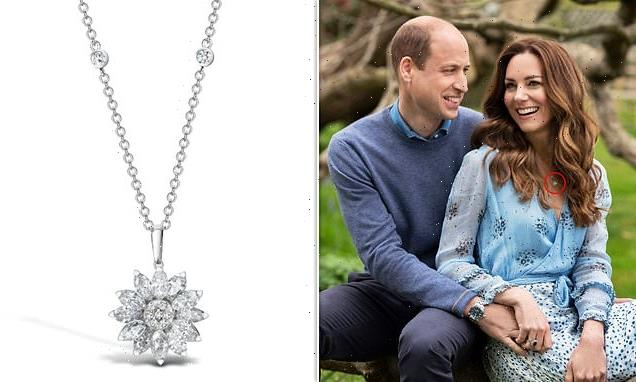 Kate Middleton wears £9,000 earrings for anniversary Prince William