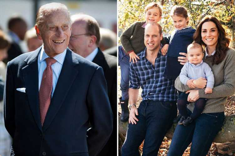 Kate and Wills' three children not expected to attend Prince Philip's funeral as royals offered live stream