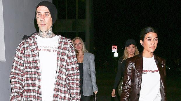 Kourtney Kardashian & Travis Barker Fans Notice Their Chemistry In Old 'KUWTK' Clip