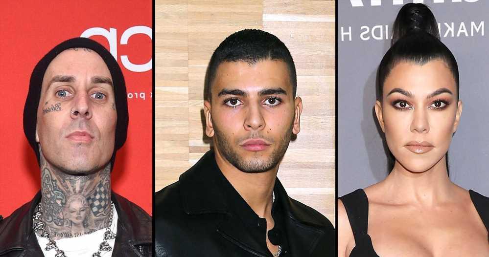 Kourtney Kardashian's Ex Younes Bendjima Denies Shading Travis Barker