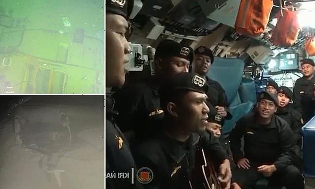 Last video inside KRI Nanggala-402: Submarine crew sing 'Goodbye'