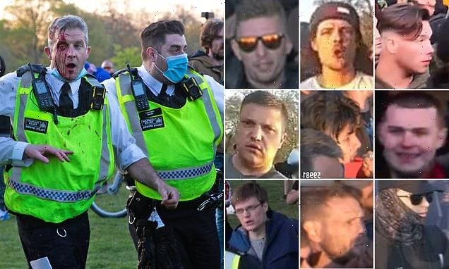 Lockdown protest UK: Police issue pictures of nine wanted men