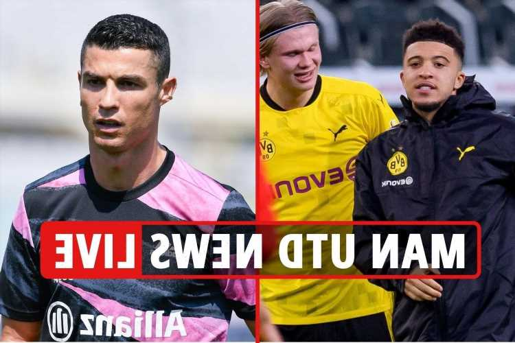 Man Utd 'the only club interested in Cristiano Ronaldo transfer', Sancho talks, Haaland and Declan Rice latest