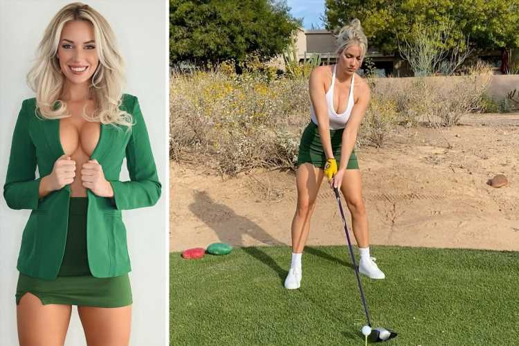 Golfer Paige Spiranac reveals she was rejected from