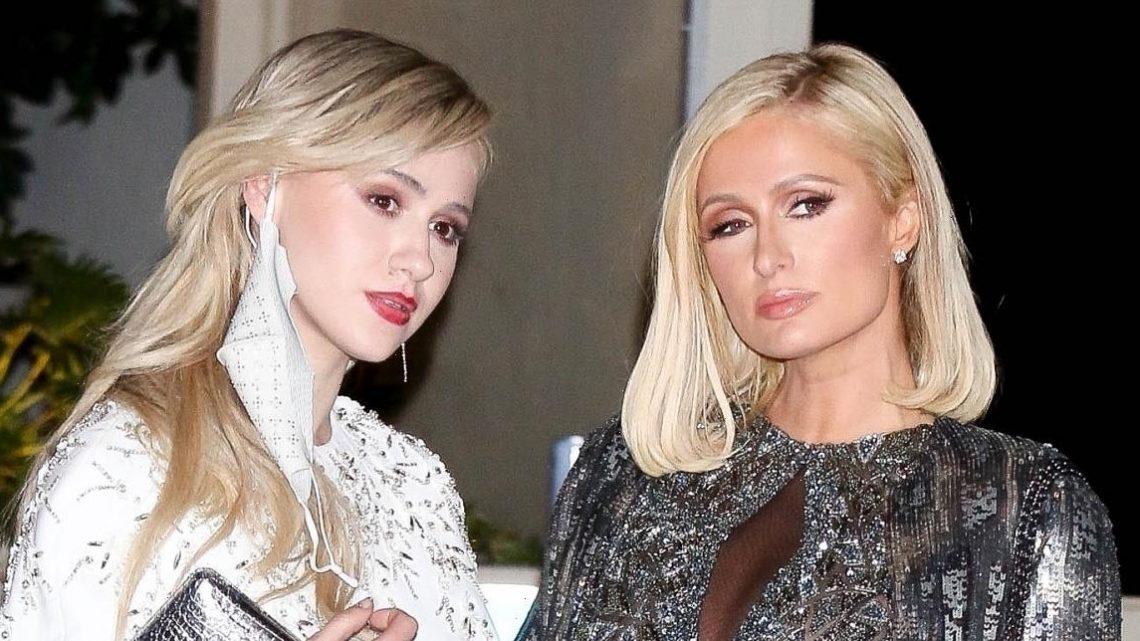 Paris Hilton & Oscar Nominee Maria Bakalova Head to Academy Awards After Party Together!