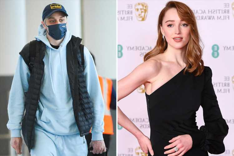 Phoebe Dynevor's boyfriend Pete Davidson broke UK quarantine rules to visit Bridgerton star after flying in from NY
