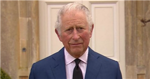 Prince Charles gives emotional tribute to 'much loved' father Prince Philip and says he would've been 'amazed by public reaction'