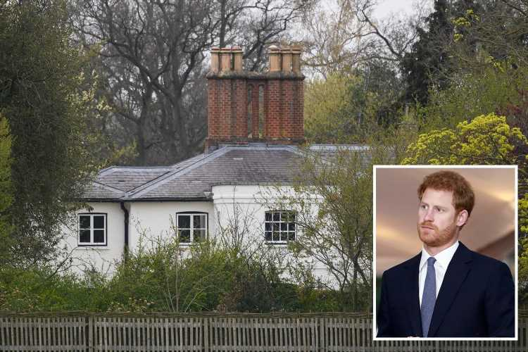 Prince Harry staying at Frogmore Cottage after arriving back in UK for Prince Philip's funeral