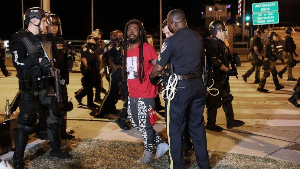 Protesters decrying police shooting of Andrew Brown Jr. arrested for breaking curfew