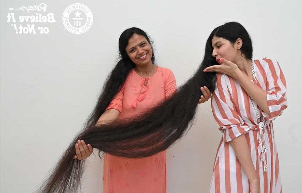 Record-breaking teen Rapunzel finally cuts her hair